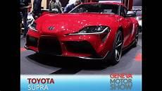 Toyota Supra En Direct Du Salon De 232 Ve 2019