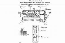 96 civic fuse box 96 honda civic fuse panel wiring diagram and schematic diagram images