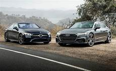 audi vs mercedes comments on 2019 audi a7 and mercedes cls450 in a luxury pseudo coupe battle
