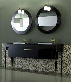 meuble salle de bain baroque noir meuble salle de bain vasques luxe baroque laqu 233 1