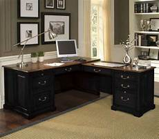 black home office furniture black executive desk home office furniture for elegance