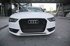 audi a4 s4 b8 5 rs4 style front grille gloss black