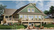 cottage house plans with wrap around porch lake house plans with basement lake house plans with wrap