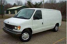 how petrol cars work 2000 ford econoline e150 on board diagnostic system purchase used 2000 ford econoline e150 cargo work delivery van low miles 1 owner fleet service