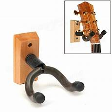 wall mount guitar holder wooden base guitar hangers wall mount hooks stand holder musical instrument sale banggood
