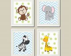 instant jungle animals nursery wall by