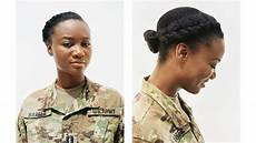 vogue profiles women who are natural in the military