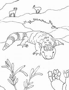 animals in the desert coloring pages 17026 desert drawing at getdrawings free