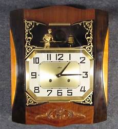 vintage deco odo westminster chime wall