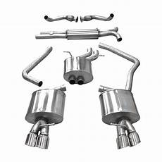 corsa performance b8 audi s4 s5 3 0t cat back exhaust system 034motorsport