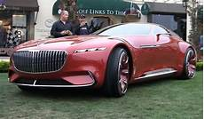 Vision Mercedes Maybach 6 Driven With A Remote Looks