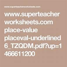 multiplication worksheet grade 3 generator 4781 www superteacherworksheets place value placeval underlined6 tzqdm pdf up 1466611200 3rd