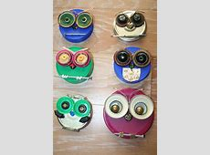 Whooo Loves Junk can lids   Owl crafts, Recycled crafts