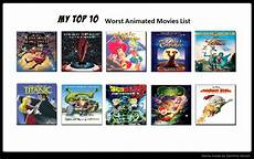 list best 2013 my top 10 worst animated list by bluesplendont on