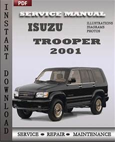 manual repair free 1995 isuzu trooper on board diagnostic system isuzu trooper 2001 factory manual download global service manuals