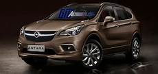 2016 Opel Antara Suv Rendered Gm Authority