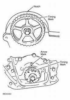 how to i adjust the timing marks in a dual 2 0 2003 ford fixya 1996 suzuki sidekick no power when timing correctly