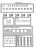 Numbers 1 30 Worksheet Set  Worksheets Number