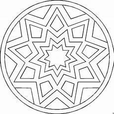 Malvorlagen Mandala Gratis Sternenmandala Ausmalbild Malvorlage Mandalas