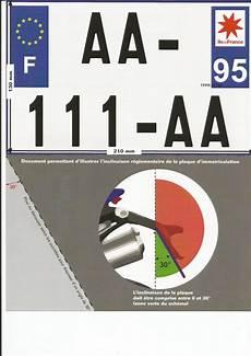 plaque immatriculation 2 roues format plaque d immatriculation 2 et 3 roues