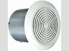 "Mobile Home Ventline Bath Exhaust Fan  7"" Round w/ White"