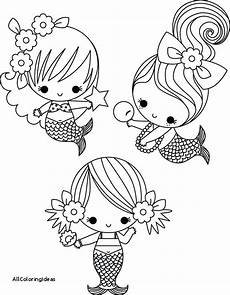 baby mermaid coloring page coloring pages mermaid