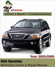 electric and cars manual 2003 kia sorento spare parts catalogs kia sorento service repair manual 2003 2009 automotive service repair manual