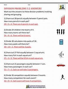division word problems worksheet for grade 3 6498 division worksheets grade 3