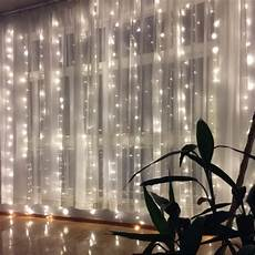 400 led string curtain fairy lights window icicle