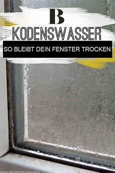 Kondenswasser Am Fenster So L 228 Sst Er Sich Vermeiden