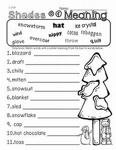 winter worksheets for second grade 19925 2nd grade common winter themed math ela pack 100 aligned language texts and math