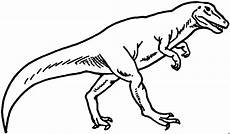 dicker t rex ausmalbild malvorlage tiere