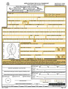 ds 11 application form for new passport travel visa pro