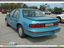 1992 Chevrolet Lumina Euro Sedan Medium Maui Blue Metallic
