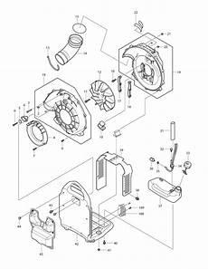 buy makita bbx7600n replacement tool parts makita bbx7600n electric blower parts diagram