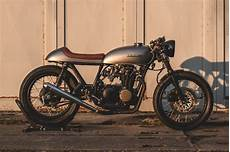 Honda Cb500 Cafe Racer Tank honda cb500 four cafe racer by kaspeed bikebound