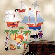 Wandsticker Wandbild Piraten Kinderzimmer Kinderzimmer
