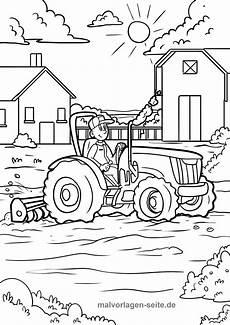 ausmalbild traktor pdf kinder ausmalbilder