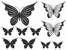 Verspielte Schmetterlinge Wandtattoo Falter Bei Wandtattoos De