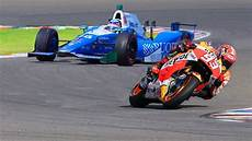 F1 Race - marc marquez motogp bike vs formula f1 indy race car