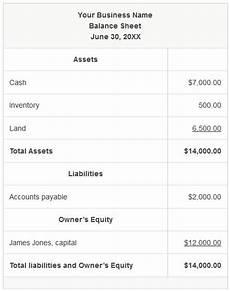 defining the balance sheet silva business services