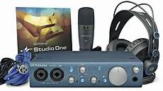 presonus audiobox itwo studio presonus audiobox itwo studio recording kit musicradar