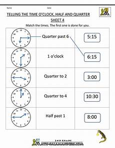 printable time worksheets grade 4 3738 telling time worksheets telling the time oclock half quarter 4 with images time worksheets
