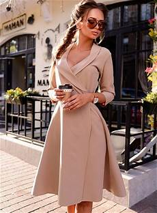 fall 2017 fashion women office dress autumn winter vintage prom party dresses high quality
