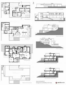 tugendhat house plan 9 best tugendhat house images on pinterest floor plans