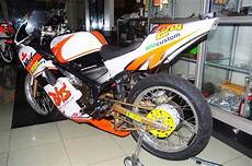 Rr 150 Modif by Wareh Modif Kawasaki Rr 150 Sporty Gp Orange White