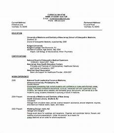 27 resume templates free word pdf documents download