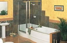 Dusche Und Badewanne Nebeneinander - side by side shower tub bathroom renovations