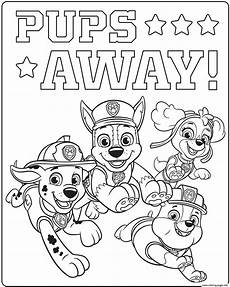 gratis malvorlagen paw patrol ultimate paw patrol ultimate rescue pups away coloring pages printable