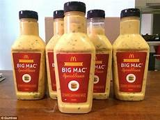 big mac sauce mcdonald s big mac special sauce is selling on gumtree for